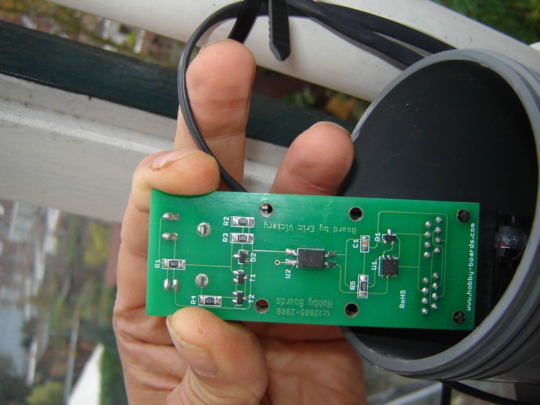 Weerstation Vreewijk Lightning Detector Circuit Diagram Klik